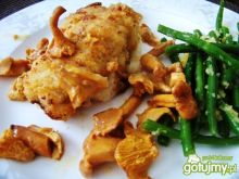 Sakiewki wieprzowe z mozzarellą