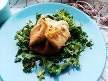 Sakiewki z marchewką oraz indykiem
