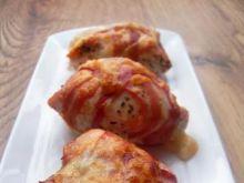 Sakiewki  z mozzarellą i pancettą