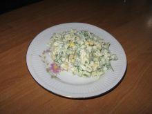 saładka z makaronu