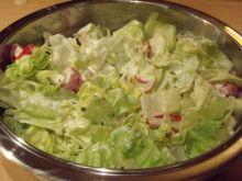 Sałata lodowa do obiadu