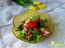 Sałata rzymska do obiadu