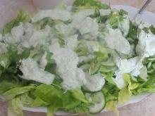 Sałata w sosie ziołowym