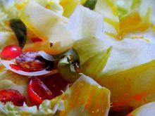 Sałata w złotym sosie