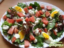 Sałata  z arbuzem