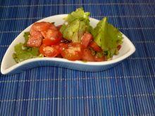 Sałata z arbuzem i pomidorami
