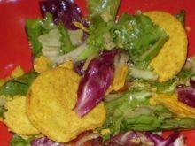 Sałata z chipsami :