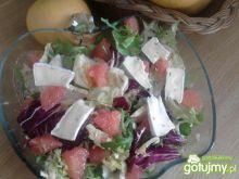 Sałata z grejpfrutem