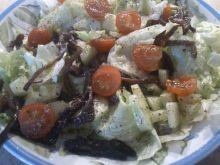 Sałata z marynowanymi grzybami mun