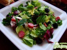 Sałata z mini salami