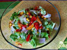 Sałata z morelą