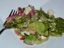 Salata z mozzarella ;)