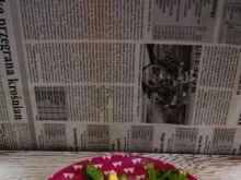 Sałata z sosem musztardowym