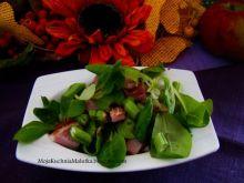 Sałata z szynka i selerem