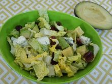 Sałatka 11 avocado-ser pleśniowy dieta 1200kalorii
