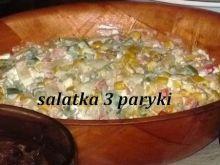 Sałatka -3 papryki