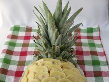 Sałatka ananas z ryżem i kurczakiem