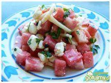 Sałatka arbuzowa z fetą
