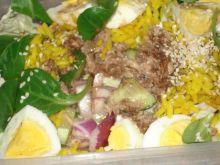 Sałatka białkowa - dietetyczna
