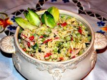 Sałatka brokułowo-ryżowa