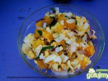 Sałatka cebulowa z marchewką
