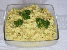 Sałatka curry z kurczaka
