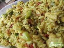 Sałatka curry z kurczakiem 3