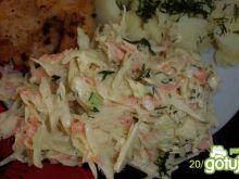 sałatka do obiadu :)