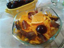 Sałatka dyniowo-owocowa