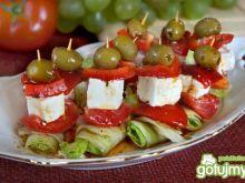 Sałatka grecka na jeden kęs!