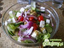 Sałatka grecka z oliwkami