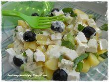 Sałatka grecka z ziemniakami