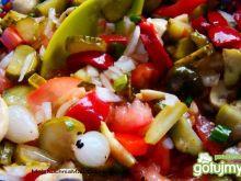 Sałatka grillowa