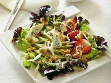 Sałatka gruszkowa z koprem włoskim