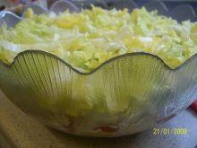 Salatka gyros.