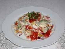Sałatka gyros pikantny