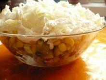 Sałatka Gyros z białą cebulą