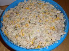 Sałatka gyros z kurczakiem
