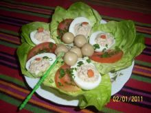 Sałatka jajeczna I