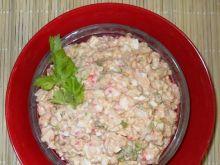 Salatka jajeczna z kalafiorem i surimi