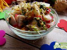 Sałatka jajeczno-krabowa iwy