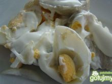 Sałatka jajeczno-śledziowa