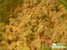 Sałatka jarzynowa z kukurydzą 5