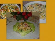 Sałatka jesienna z dynią i papryką
