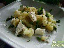 Sałatka kalafiorowa z serem feta
