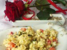 Sałatka kalafiorowa z sosem serowym wg Di