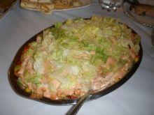 Sałatka Kebab ognisty