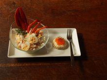 Sałatka koktajlowa z homara