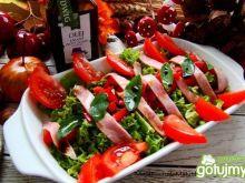 Sałatka kolacyjna z olejem lnianym