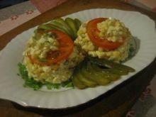 Sałatka kukurydziana z majonezem